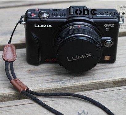 單眼/微單相機/DC數位相機等 手繩/手腕帶 黑色 咖啡色 2種款式 Miniway