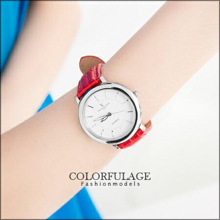 范倫鐵諾Valentino 極簡時刻 銀色刻度皮革手錶對錶 真皮錶帶 柒彩年代【NE873】單支價格 0
