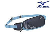 慢跑_路跑周邊商品推薦到33TM600714(深藍) 運動用(加大)護翼型腰包 【美津濃MIZUNO】