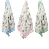 彌月禮盒推薦美國小長頸鹿 Little Giraffe -嬰兒安撫巾 (LXDBLG Little G Blanky)【粉色】