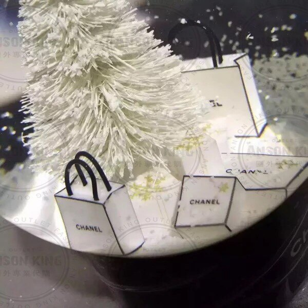 Chanel 香奈兒 小香 VIP 聖誕節 雪花 聖誕樹 贈品 送禮 情人節 水晶球 4