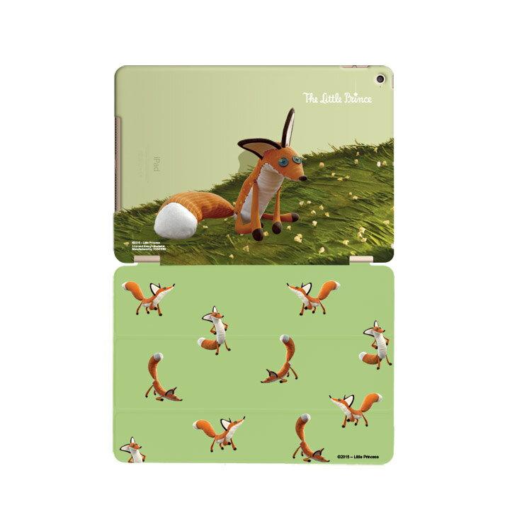小王子電影版授權系列-【親愛的狐狸】:《 iPad》水晶殼+Smart Cover(磁桿)