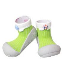 【本月特價$599】韓國【Attipas】快樂腳襪型學步鞋-糖果綠 - 限時優惠好康折扣