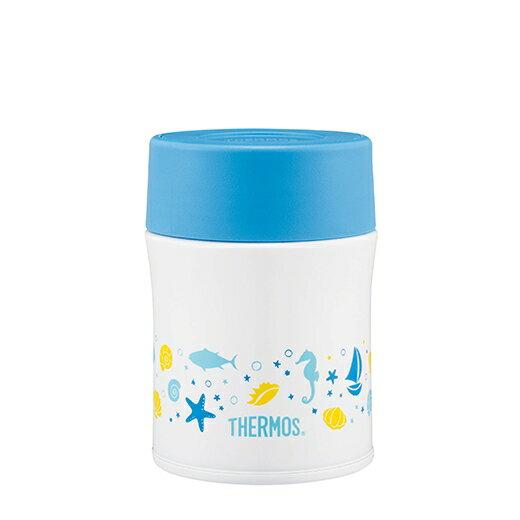 日本【Thermos】不銹鋼真空保溫食物燜燒罐500ml - 奇幻海洋篇 - 限時優惠好康折扣