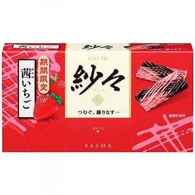 ^~草莓季^~Lotte樂天紗紗草莓巧克力^(69g 低溫冷藏配送