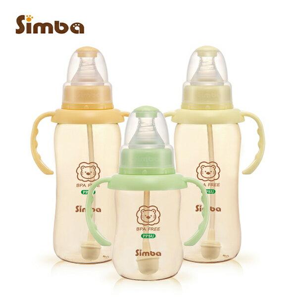 Simba小獅王辛巴 - PPSU自動把手標準葫蘆奶瓶經濟組 (2大1小) 加贈nac nac - 奶蔬洗潔精200ml! 0