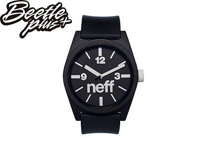 BEETLE PLUS NEFF DAILY WATCH BLACK WHITE 黑白 基本款 指針 手錶 圓錶 NF-106 0