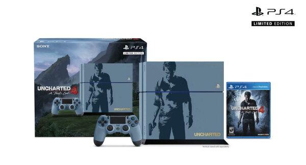 現貨供應中 公司貨 一年保固   [PS4主機] PS4 秘境探險 4:盜賊末路 特殊主機同捆組+ PS4 控制器 (黑)