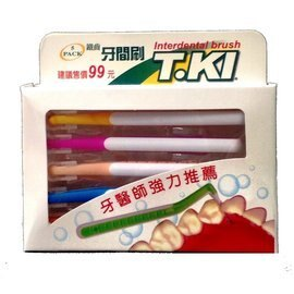T.KI 鐵齒牙間刷 5入/盒◆德瑞健康家◆