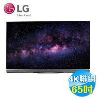 LG電子到LG 65吋4K HDR OLED智慧聯網液晶電視 OLED65E6T