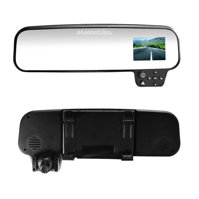 MANHATTAN RS.3 HDR高畫質後視鏡型行車記錄器 (搭載跨世代高動態(HDR)攝影技術)【送16G SD記憶卡】 - 限時優惠好康折扣