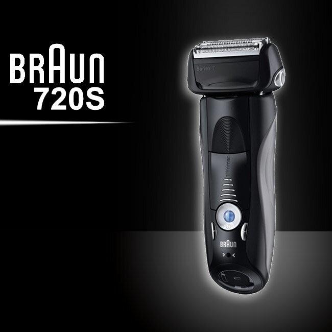 德國百靈BRAUN 7系列智能音波極淨電鬍刀720s - 限時優惠好康折扣