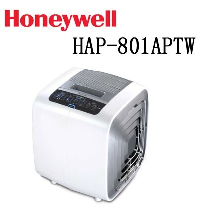【送4片HEPA+2片活性碳濾網】Honeywell 智慧型 抗敏抑菌空氣清淨機 HAP-801APTW - 限時優惠好康折扣