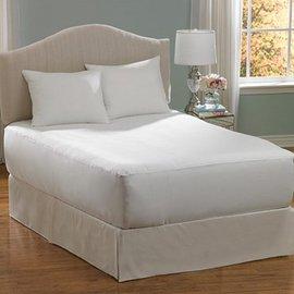 防蹣(螨)寢具【伊莉貝特】純棉-雙人特大床墊套 183*214*30cm ( 6x7尺 ) - 限時優惠好康折扣