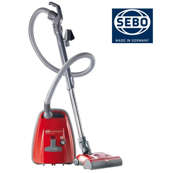 德國原裝SEBO頂級吸塵器 機動輕巧 AIRBELT K3 PREMIUM【紅色】 - 限時優惠好康折扣