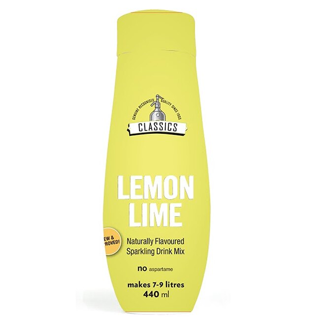 SodaStream檸檬萊姆濃縮飲品440ML - 限時優惠好康折扣