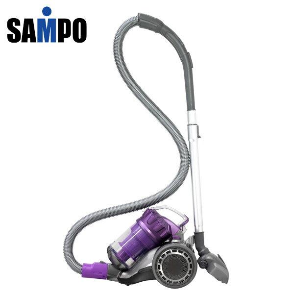 (限量1台)SAMPO聲寶 免紙袋吸力不衰減吸塵器(ECS-W1135PL) 【送車用吸塵器】