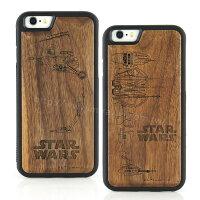 【Star Wars 】iPhone 6 Plus/6s Plus 星際大戰 原木/木頭雷雕保護殼/手機殼