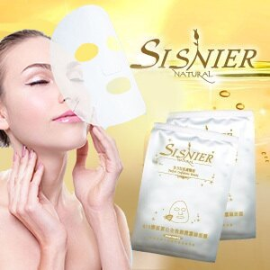 【SISNIER】Q10膠原蛋白全效修護蠶絲面膜