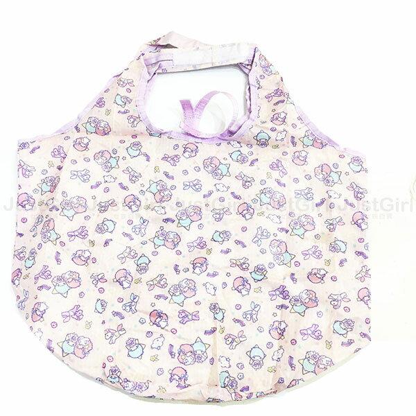 雙子星 kikilala 環保購物袋 手提袋 收納袋 配件 正版日本進口 * JustGirl *