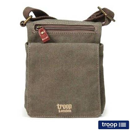 【TROOP】經典品格CLASSIC斜背包/TRP0243BN