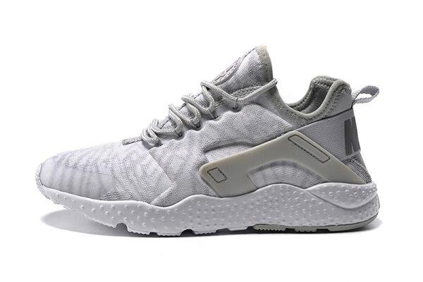Nike air huarache run ultra breathe 三代黑白武士 跑步慢跑鞋 情侶鞋【T0051】潮