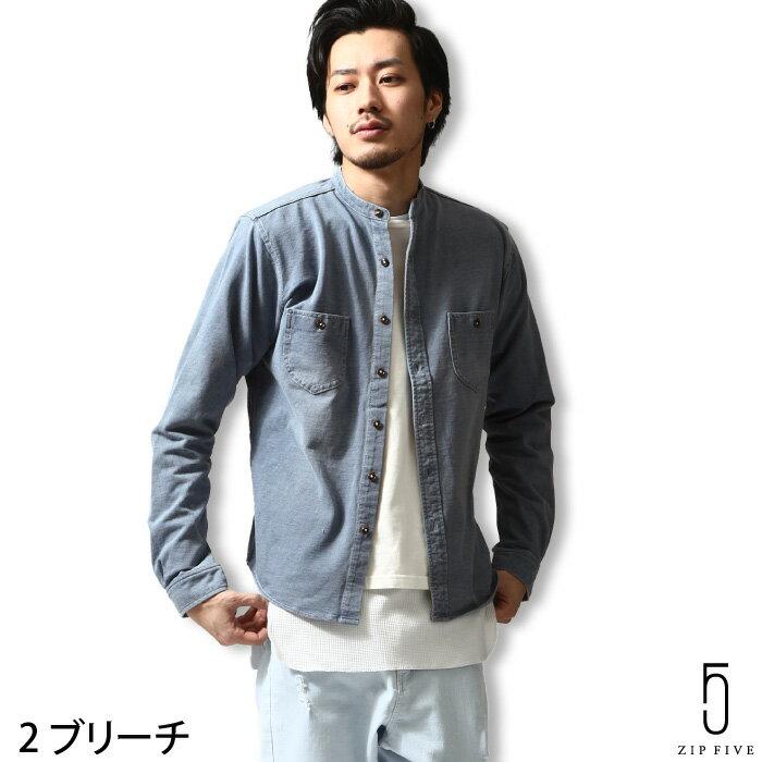 襯衫 丹寧 水洗加工 ZIP FIVE 日本男裝 超商取貨 zip-tw【681960br】