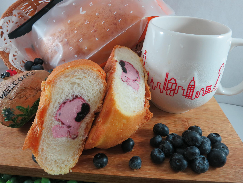 【Bliss Castle】首創灌飽包#爆漿麵包#初階綜合(四入一盒)草莓*1芒果*1蔓越莓*1藍莓*1#下午茶#夏日野餐趣#多種吃法 1