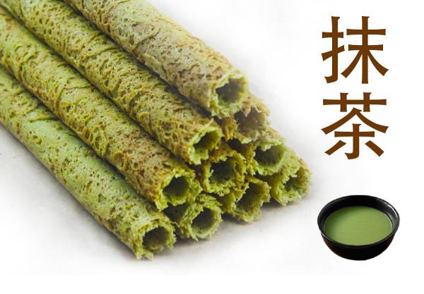 【阿哥手工蛋捲】抹茶3包入/15支蛋捲禮盒【蛋奶素】