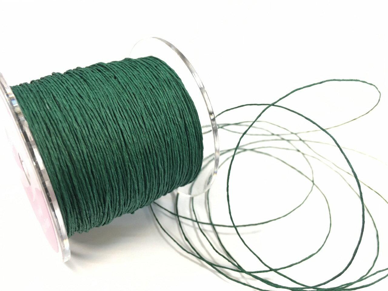 紙繩緞帶 1mm 100碼裝 (5色) 2