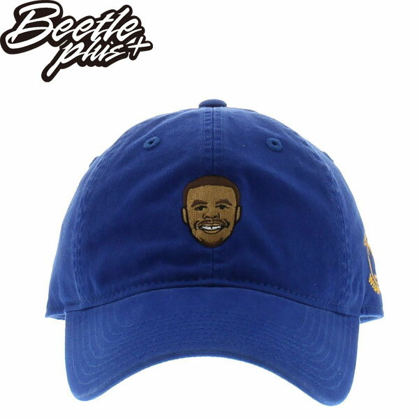 BEETLE 47 BRAND 老帽 金州 勇士 GOLDEN STATE WARRIORS DAD CURRY 藍 MN-400 0