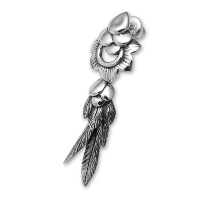 【現貨商品】【Bloody Mary】Seafowl 鳥之翼純銀耳環 (BME0457  0234080000) 0