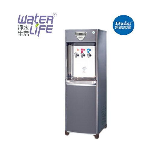 【淨水生活】《普德Buder》《公司貨》BD-1075 水塔式 冰冷熱三溫 落地型飲水機 ★贈不鏽鋼保溫瓶 ★免費安裝