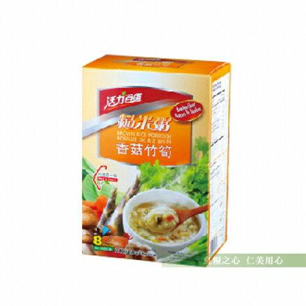 活力百匯 香菇竹筍糙米粥(6包/盒)