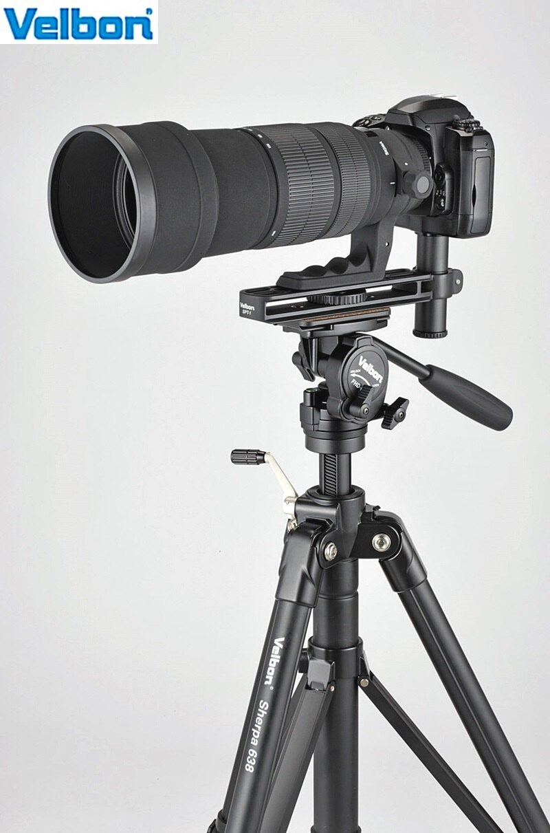 又敗家~ Velbon鏡頭支撐架SPT~1大炮長板SPT1支撐架鏡頭托板望遠鏡頭長板鏡頭環