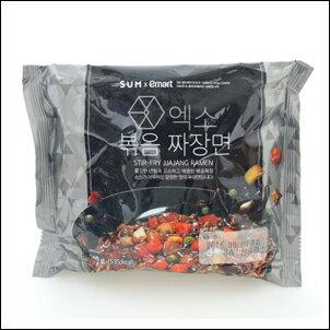 EXO SUM x emart 炸醬麵 泡麵 140g