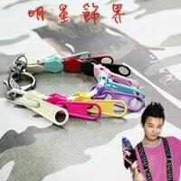  Star World。Bracelets    BIGBANG GD 權志龍 獨特時尚拉鍊皮帶手環手鍊