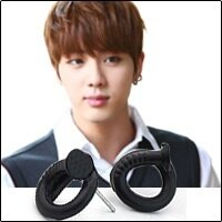   Star World。Earring    BTS Jin 同款捲曲釘子造型耳釘耳環 (單支價)