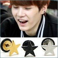 | Star World。Piercing | BTS 同款簡約風格星星穿刺耳環 (單支價)