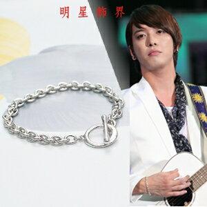| Star World。Bracelets |  CNBlue  鄭容和 同款簡約設計輕巧圓環OT扣手鍊手環
