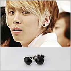 | Star World。Earring | SHINee 鐘鉉 Key 高雅時尚蘑菇造型耳釘耳環 (單支價)