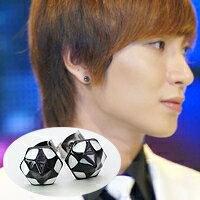 | Star World。Earring | Super Junior 利特 同款六面五角星錐耳釘耳環 (單支價)