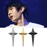 | Star World。Earring | VIXX Leo 同款立體長十字耳釘耳環 (單支價)