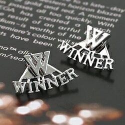 | Star World。Earring | WINNER 標誌耳釘耳環 (單組價)