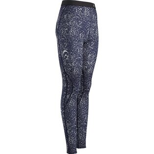 C3fit 慢跑褲/緊身褲/壓力褲 日本製 限定款 路跑/馬拉松/健行/登山 女 3FW05320_DM 藍色大理石