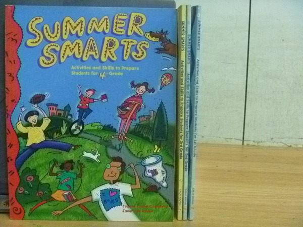 【書寶二手書T3/語言學習_YDF】Summer Smarts_4本合售
