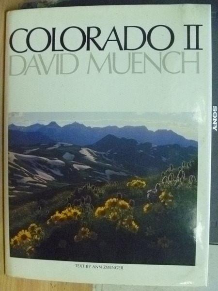 ~書寶 書T5/攝影_YIP~Colorado_II_Text by Ann Zwinge