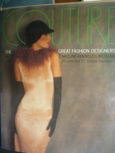 ~書寶 書T7/ _ZBE~Couture: The Great Fashion Desi