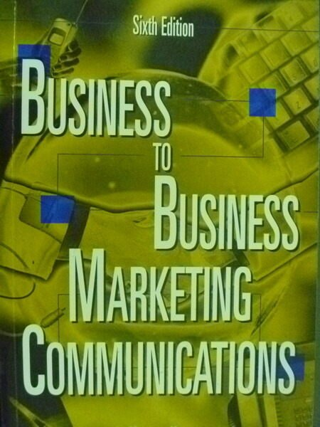 ~書寶 書T4/行銷_QHE~Business~to~Business Marketing