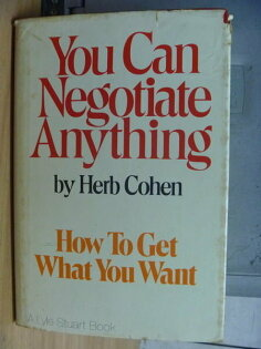 【書寶二手書T9/溝通_XCK】You Can Negotiate Anything_Herb Cohen